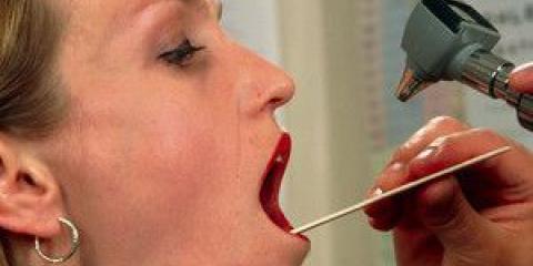 Промивання мигдалин в домашніх умовах